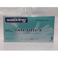 GUANTI WALK. NITROFLEX NITRILE S GR.4 PZ.100