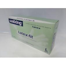 GUANTI LATEX-FIT WALKING L PZ.100