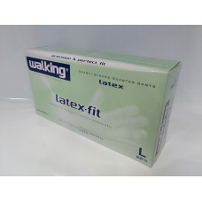 GUANTI LATEX-FIT WALKING L PZ.100
