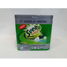 SVELTO PF.ALL IN1 ECO TABLETS PZ.100