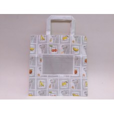 SHOPPER CARTA 26+17X27 SILVER PZ.200