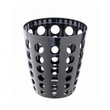 BASKET GETTACARTE IN PLAST.12L NERO